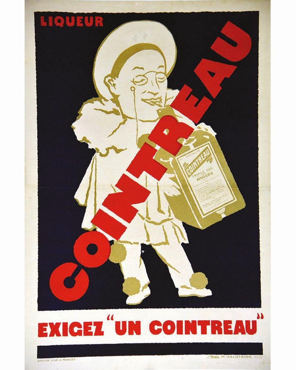 ATELIER JEAN ADRIEN MERCIER - Cointreau Exigez un Cointreau     vers 1930