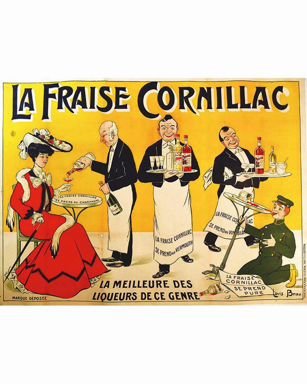 BRAU LOUIS - La Fraise Cornillac     vers 1920