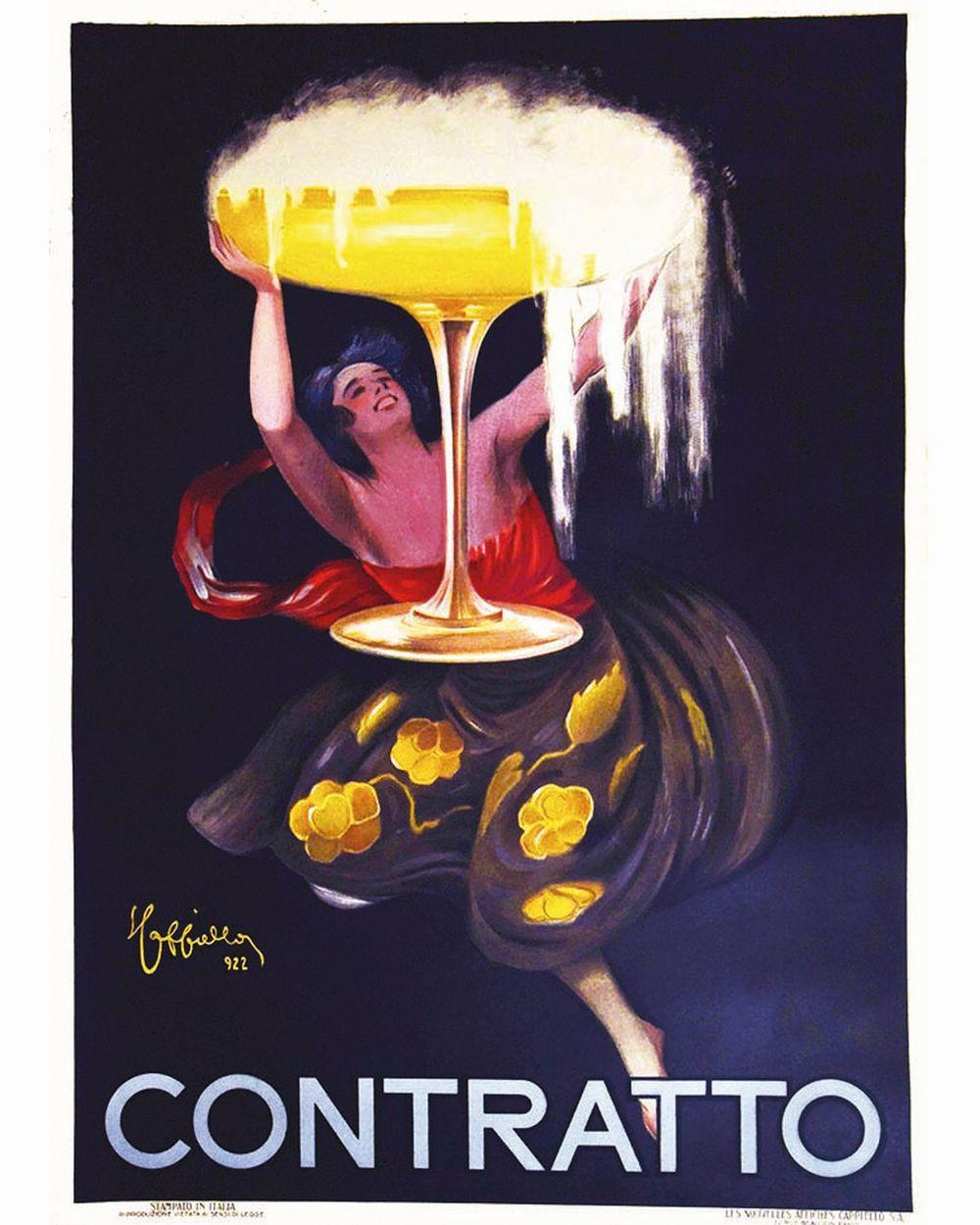 CAPPIELLO LEONETTO - Contratto     1922