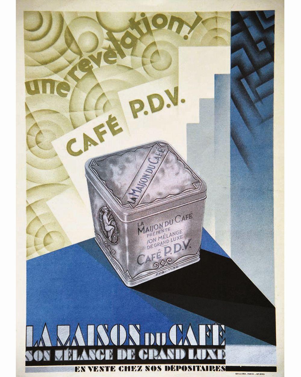 La Maison du Café Café PDV     vers 1930