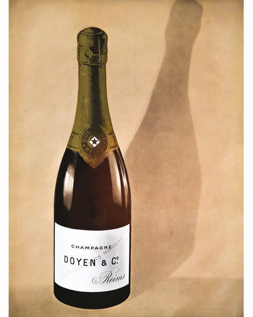 Champagne Doyen & Co     vers 1930  Reims (Marne)