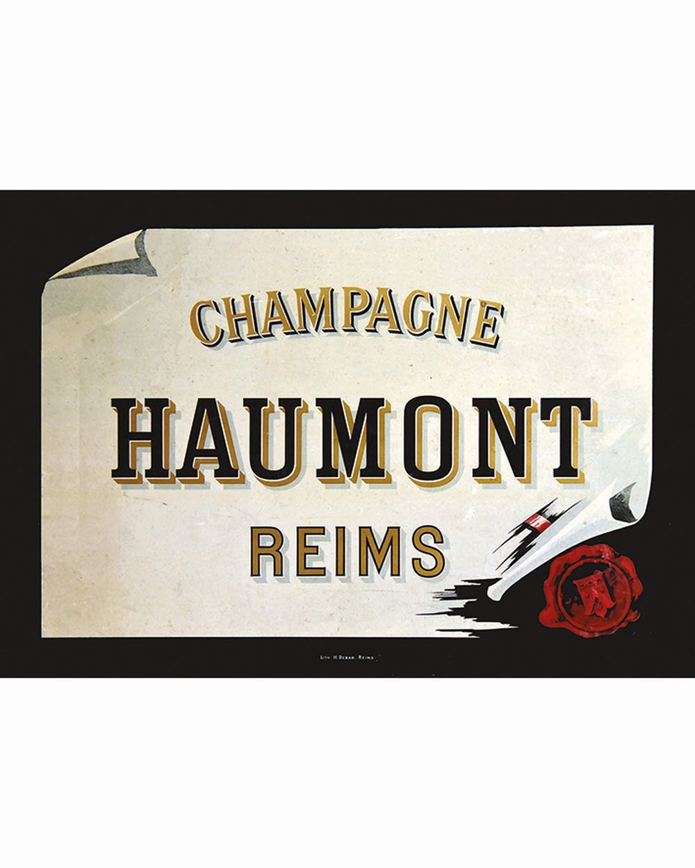 Champagne Haumont Reims     vers 1930