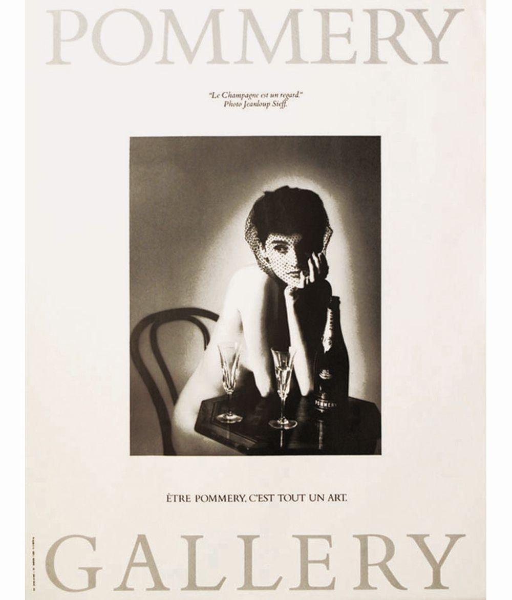 SIEFF JEANLOUP - Pommery - Le Champagne est un regard - Jean Loup Sieff-Pommery Gallery Etre Pommery est tout un art     1987