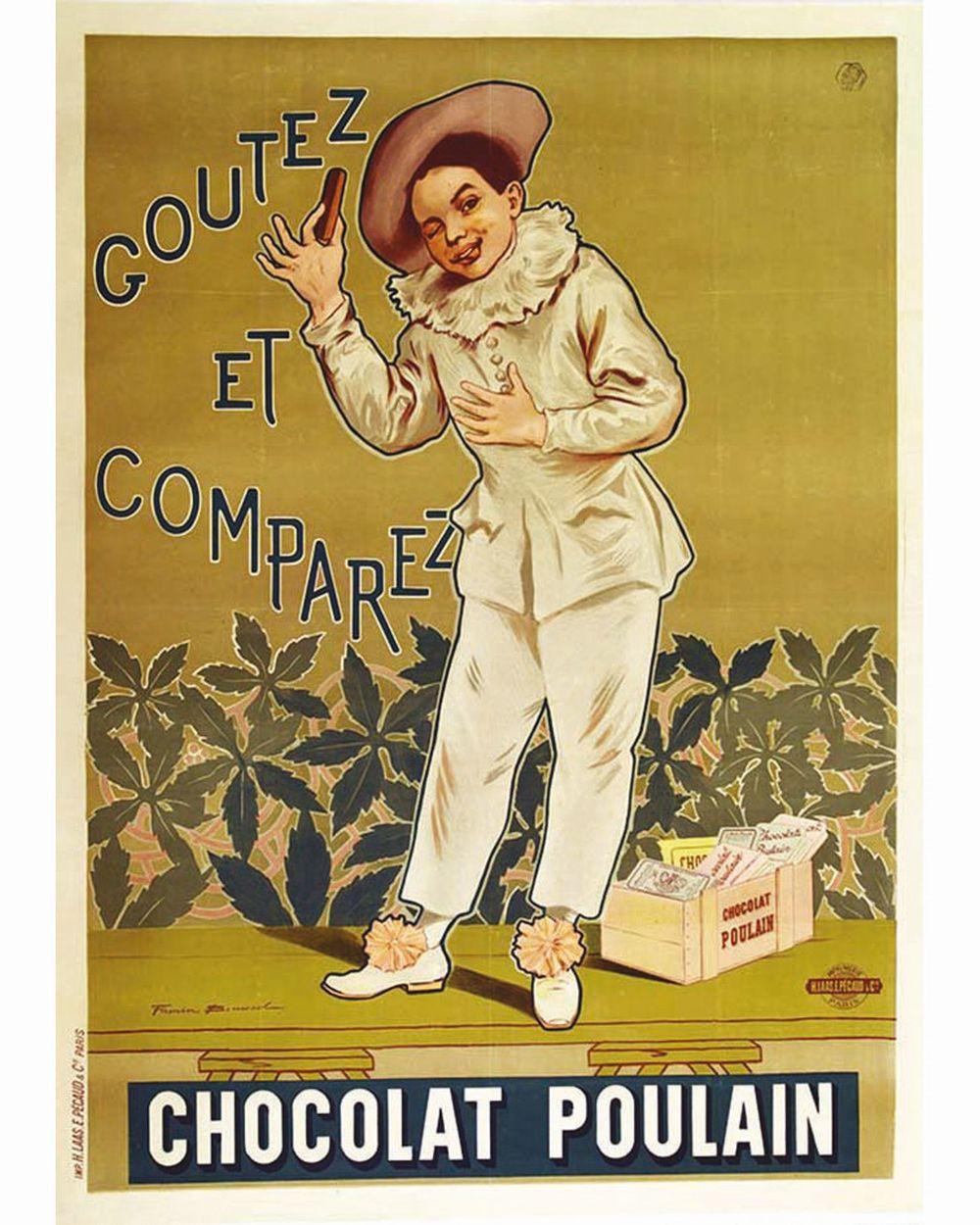 BOUISSET FIRMIN - Chocolat Poulain     1904  Blois (Loir et Cher)