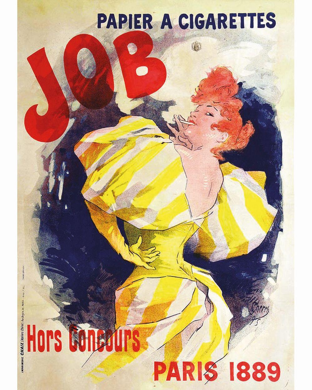 CHERET JULES - Job     1895
