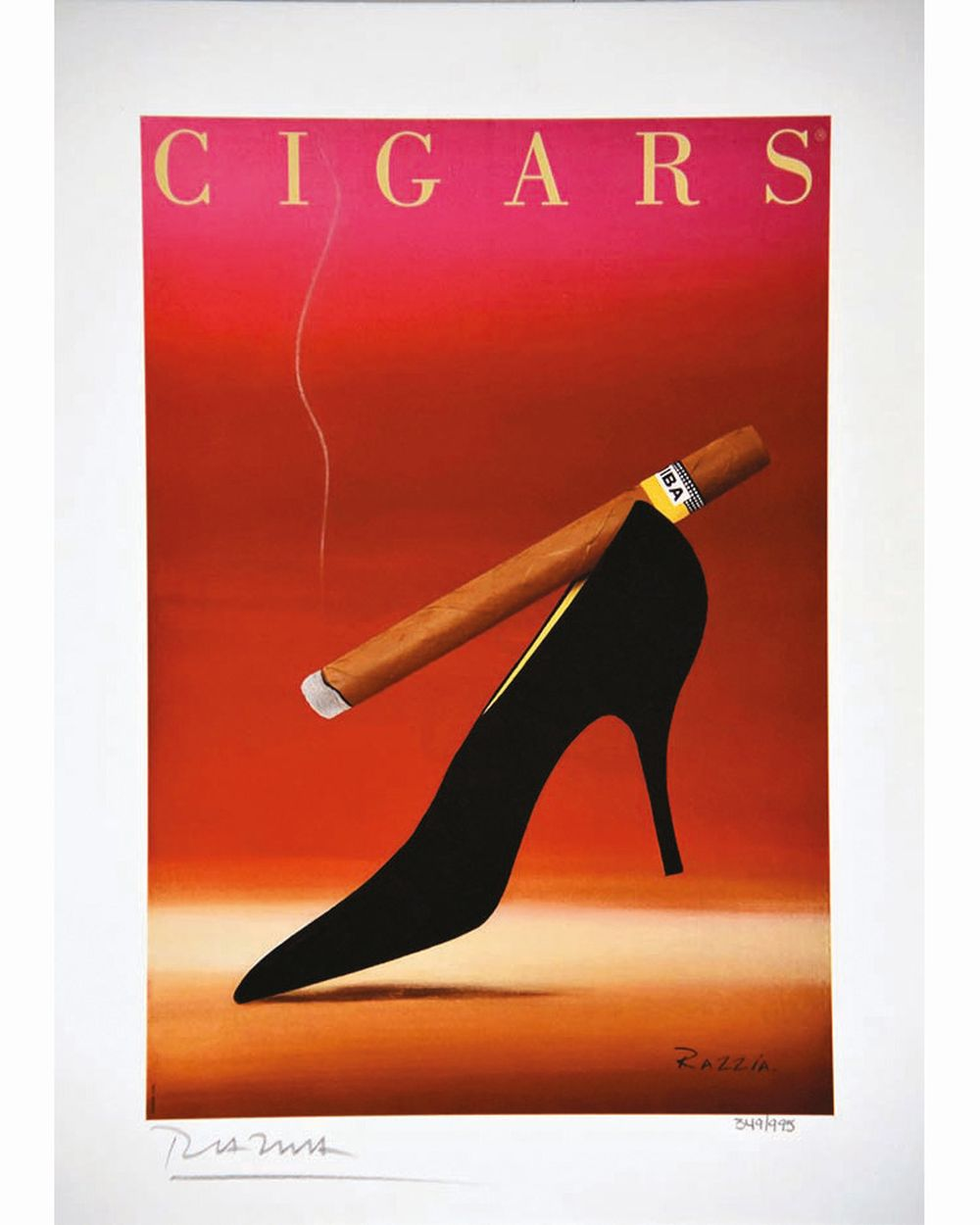 RAZZIA - Cohiba Cigars signée par Razzia     1994