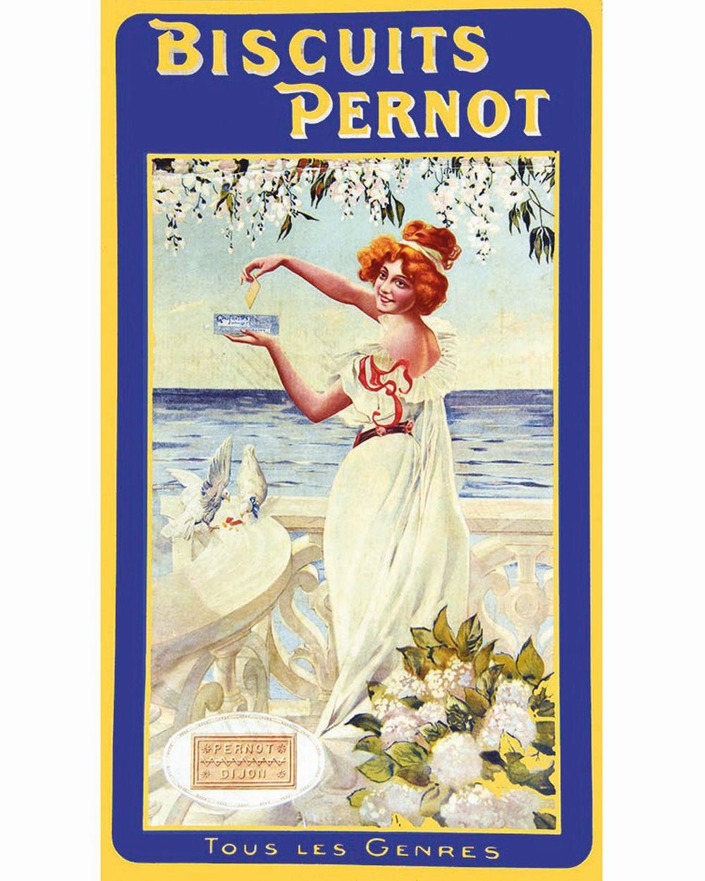 Biscuits Pernot Dijon tous les genres     vers 1900  Dijon (Côte-d'Or)