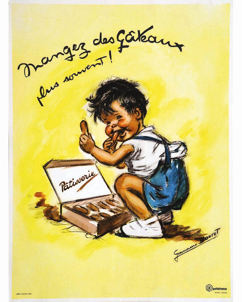 BOURET GERMAINE - Mangez des Gâteaux plus souvent     vers 1950