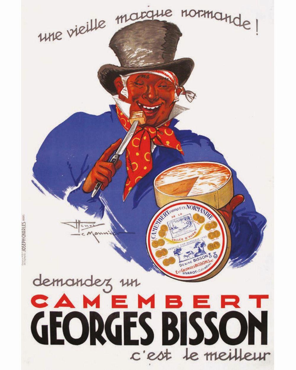 LEMONNIER HENRY - Camembert Georges Bisson     1937  Livarot ( Calvados )
