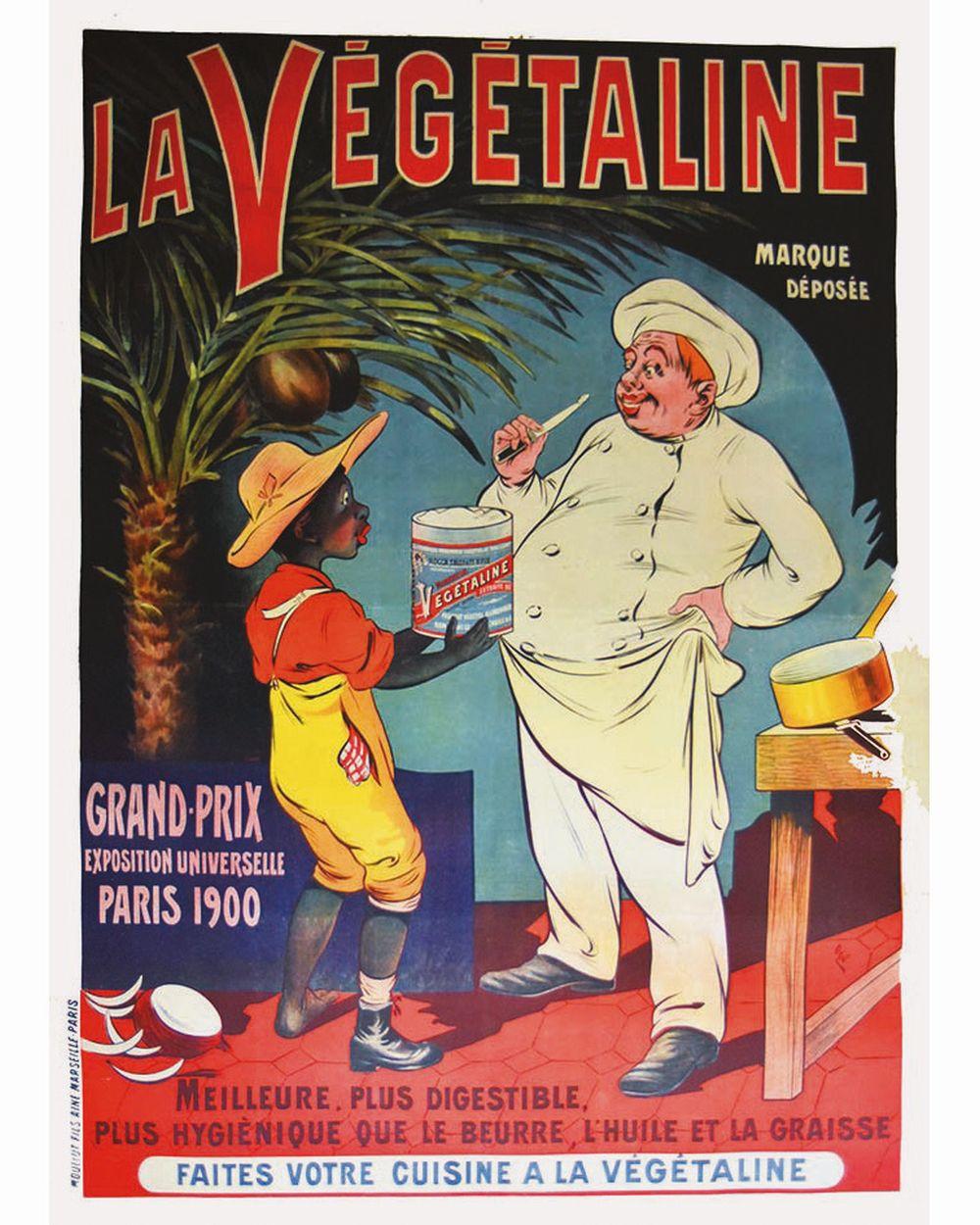 OGE - La Végétaline Grand Prix Exposition Universelle Paris 1900.     vers 1900