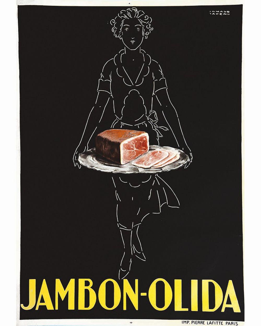 RAPENO ARMAND - Jambon Olida     vers 1930