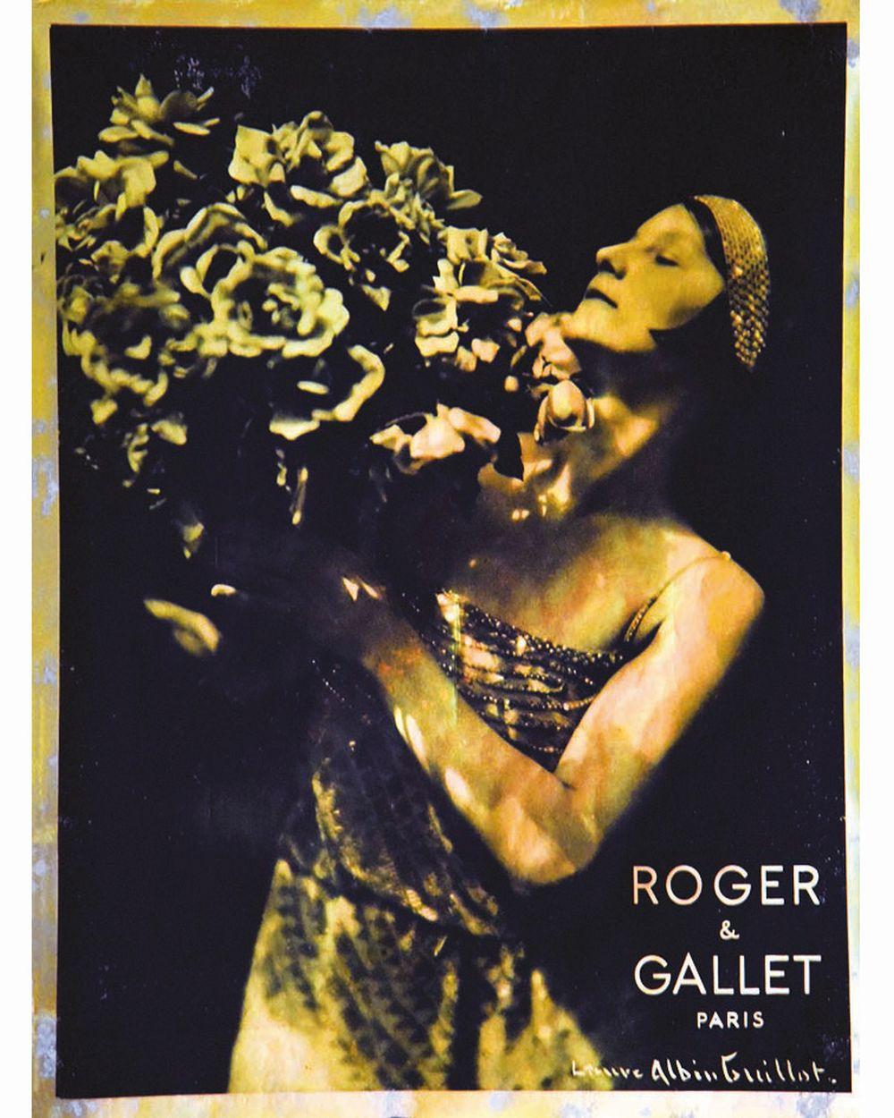 ALBIN GUILLOT LAURE - Roger Gallet     vers 1930  Paris