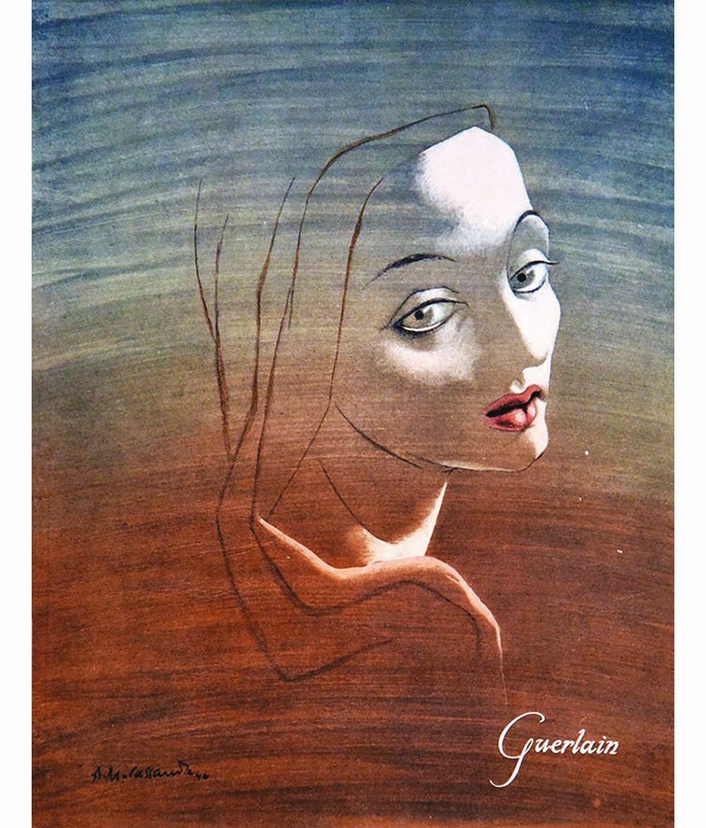 CASSANDRE - Guerlain     1946