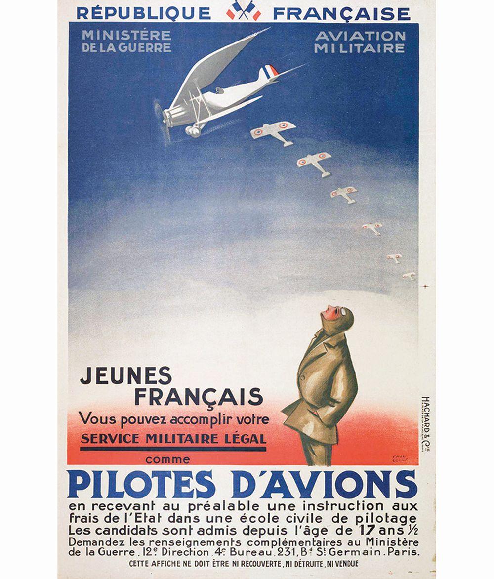 COLIN PAUL - Pilotes d'Avions     vers 1930