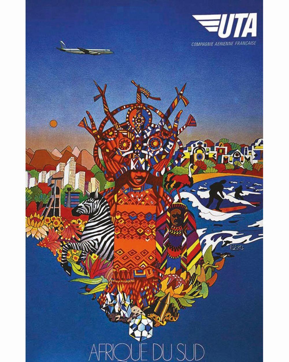 BBN - Afrique du Sud UTA     vers 1980