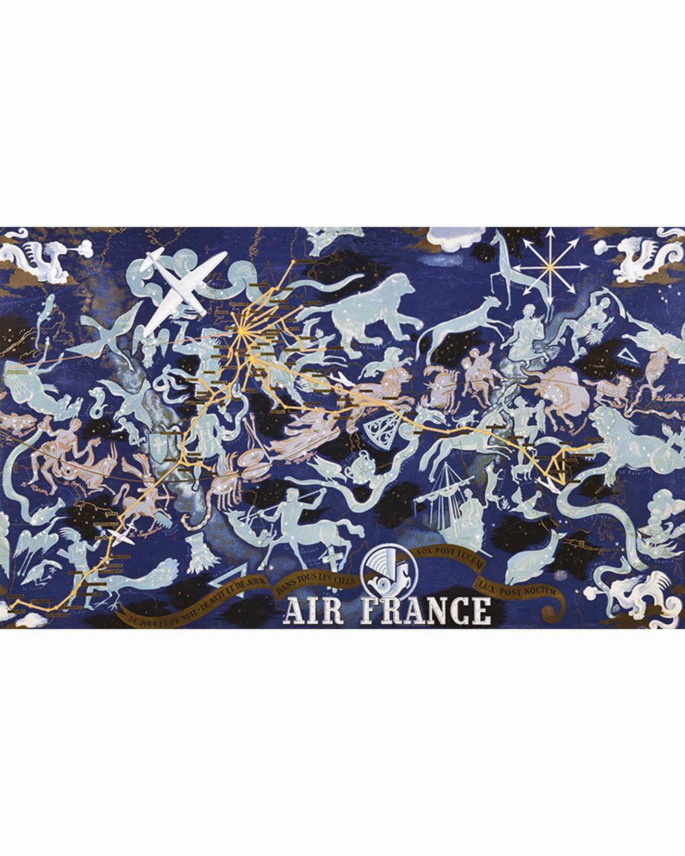 BOUCHER LUCIEN - De Jour & de Nuit - De Nuit & De Jours - Dans Tous Les Ciels Air France     1939