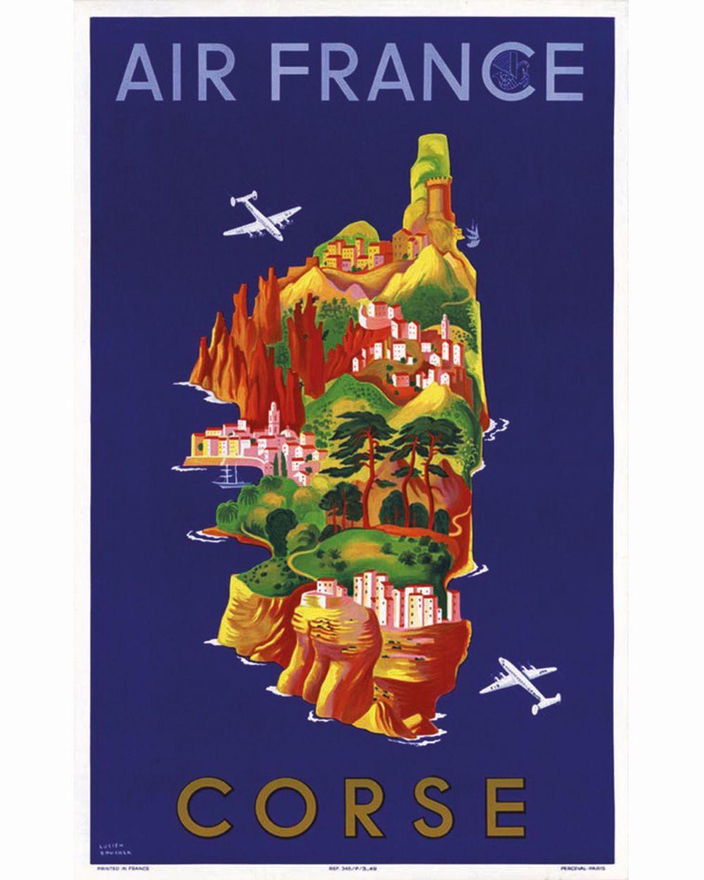 BOUCHER LUCIEN - Corse Air France     1949