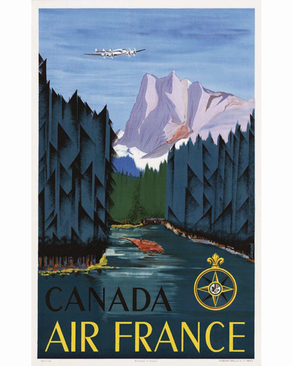 DORE JEAN - Canada Air France     1951