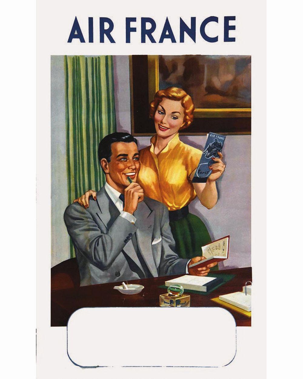 EILFA MARCO - Air France     vers 1950
