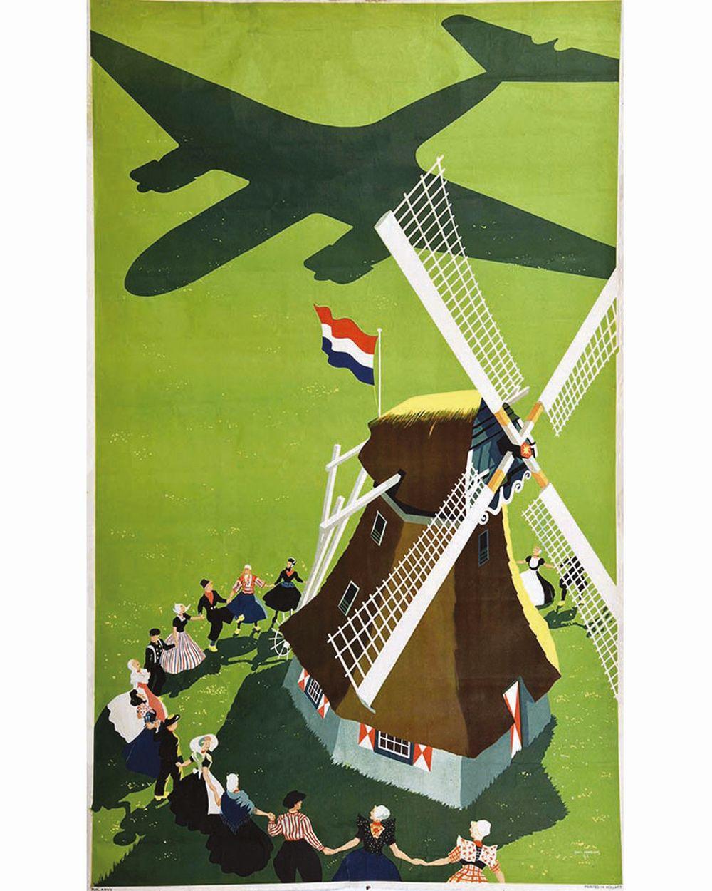 ERKELENS PAUL - KLM Avant la Lettre     1945