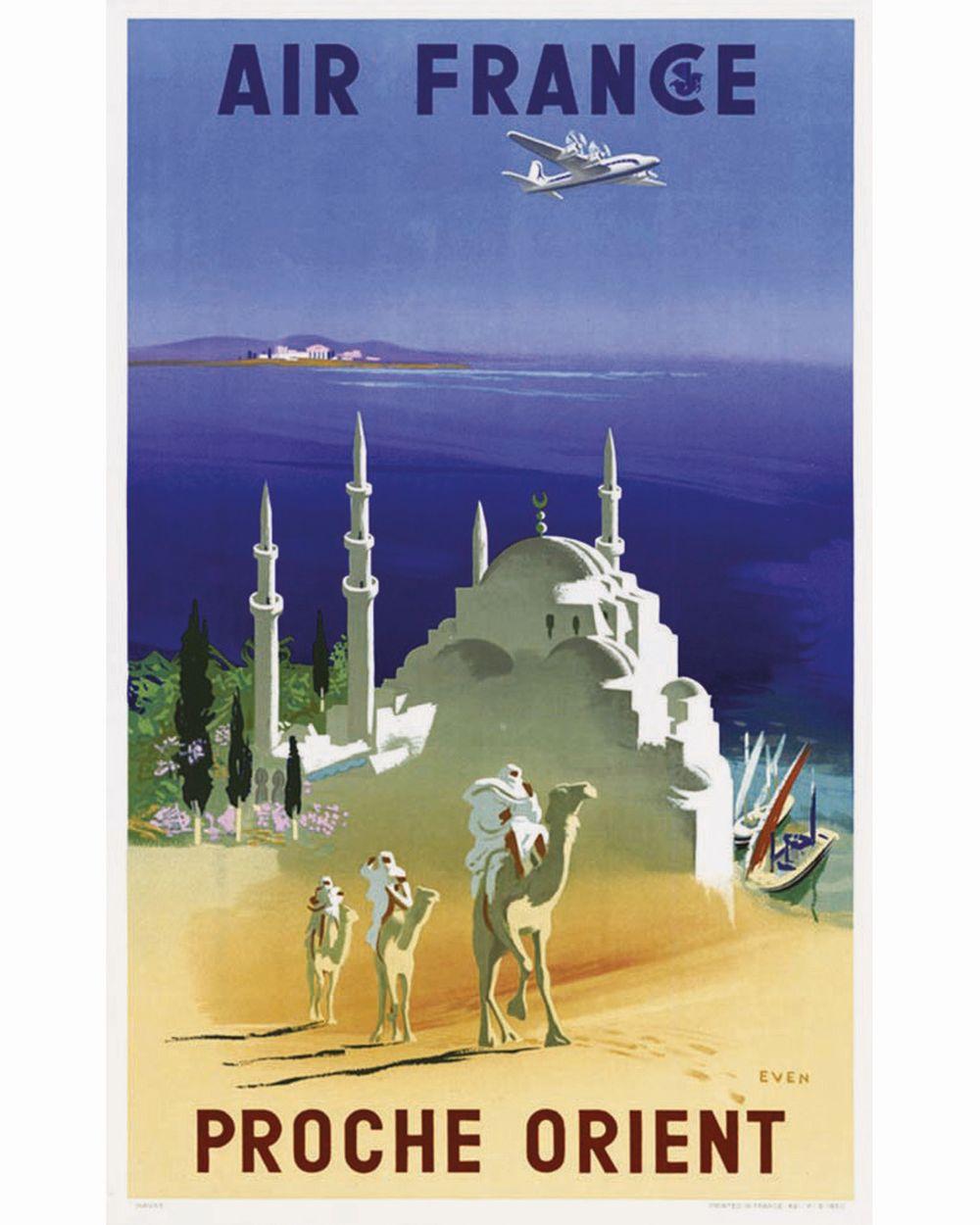 EVEN - Air France Proche Orient     1950