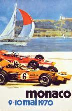Monaco 9 10 Mai 1970 Le Château & Le Port De Monaco 1970