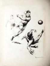 Match de Football vers 1930