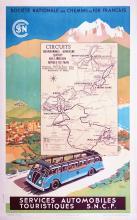 Services Automobiles Touristiques SNCF 1938