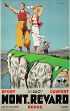 Mont Revard PLM vers 1930
