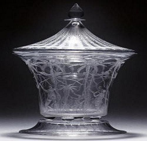 Edward Hald 1883-1980. Pokal med lock.