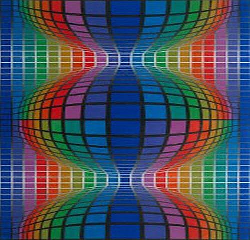 Victor Vasarely Frankrike 1908-1997.