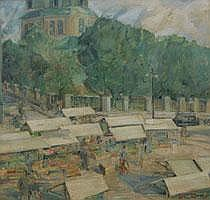 Gunnar Asplund 1885-1940. Park i staden. Signerad