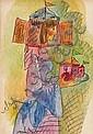 Aleksandr Grigoryevich Tyshler Ryssland 1898-1980., Aleksandr Tyshler, Click for value