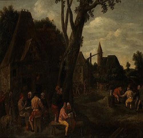 Adriaen Brouwer 1605/06-1638. Hans art. Byscen.