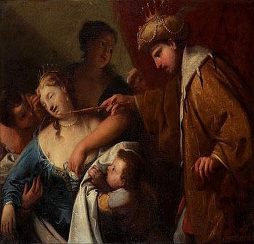 Antonio Bellucci 1654-1726. Tillskriven. Esther