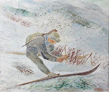 Folke Ricklund 1900-1989. Jägare i landskap.