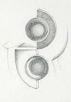 Carmelo Cappello Italien 1912-1996. Geometrisk