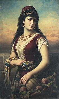 Anton Ebert Österrike 1845-1896. Orientalisk