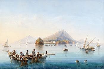 Gioacchino La Pira Italien verksam 1839-1870.