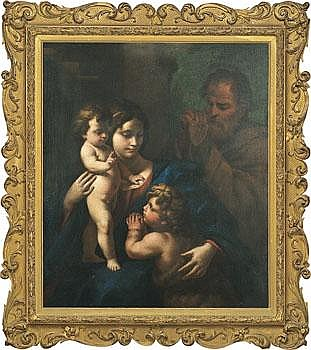 Nicola Vaccaro Italien 1640-c:a 1709. Den heliga