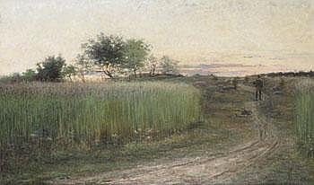 Hilma af Klint 1862-1944. Sommarkväll på Öland.