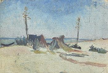 Ivan Aguéli 1869-1917. Nordafrikanskt landskap.