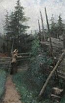 Gerda Maria Rydberg Tirén 1858-1928. Kvinna vid