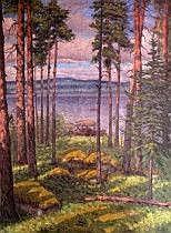Dick Beer England/Sverige 1893-1938. Insjölandskap