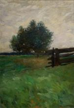 """Herbst, Thomas (1848-1915) """"North German landscape"""", oil/canvas, signed on the right, 56x38cm (w.f. 78,5x60cm), slightly soiled"""