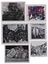 Konvolut Grafiken verschiedene Künstler   A bundle of graphics various artists
