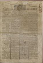 REPUBLIC OF TEXAS NEWSPAPER, JULY 1845