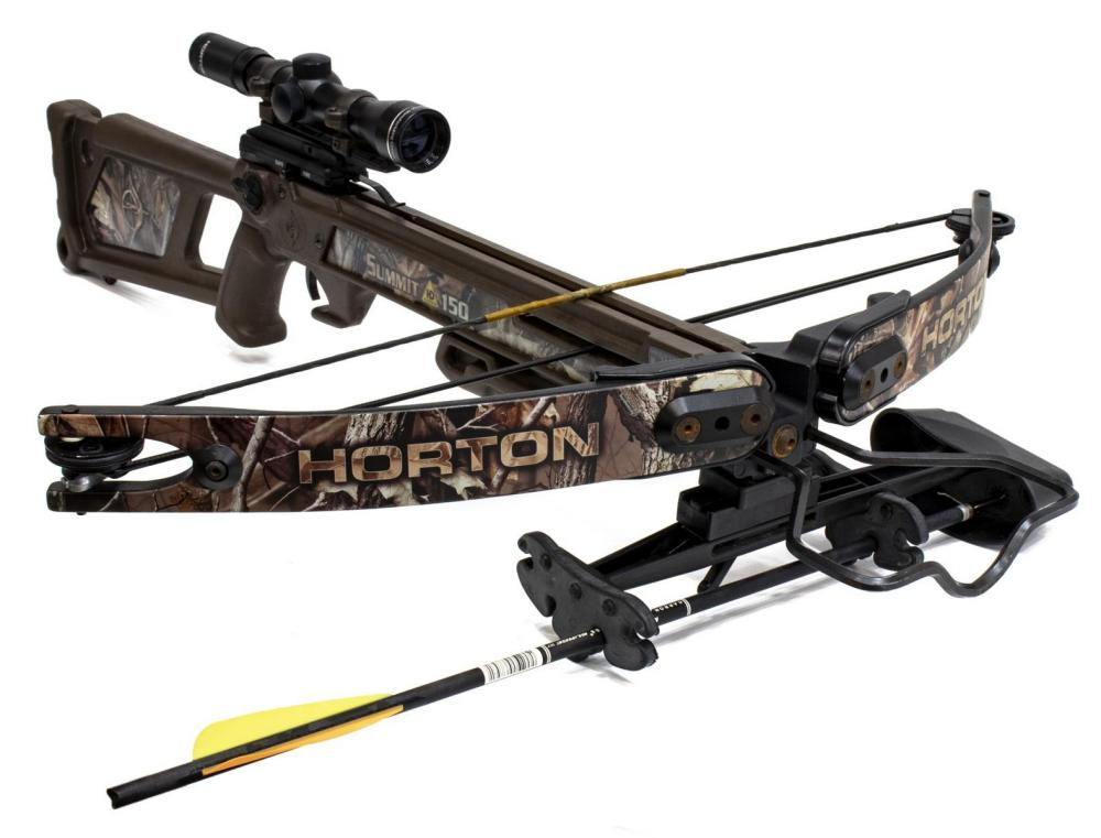 HORTON SUMMIT 150 CROSSBOW WITH SCOPE