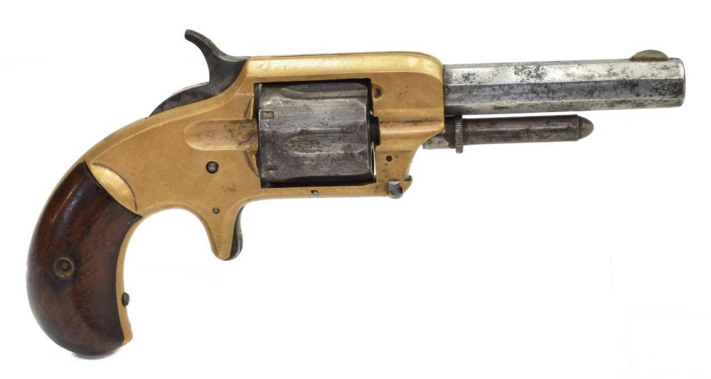 Lot 402: WHITNEY MODEL 2 REVOLVER, .32 CAL
