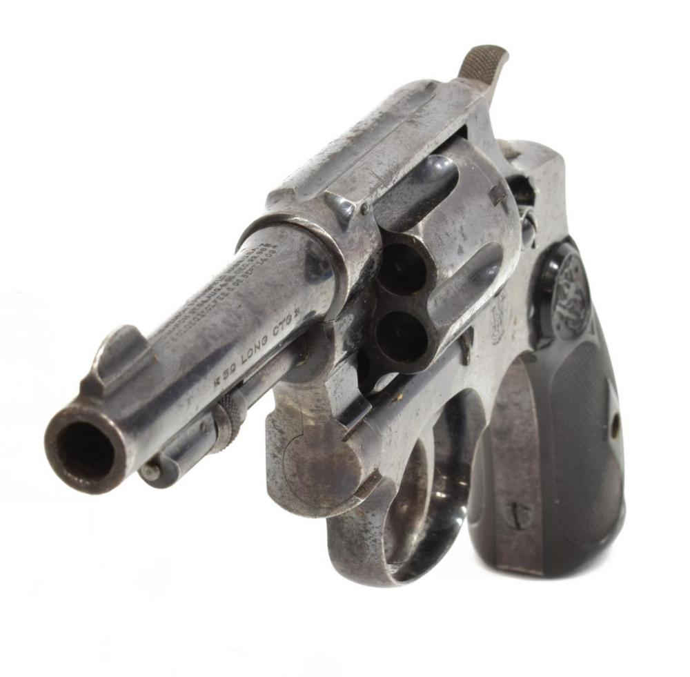 Lot 404: SMITH & WESSON 1903 HAND EJECTOR REVOLVER, .32LONG